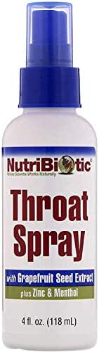 Nutribiotic Throat Spray, 4 Fluid Ounce