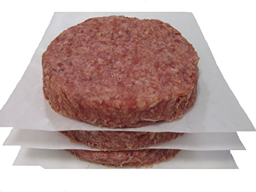 Bison Meat (Buffalo 100% Burgers 5.3 oz. - 12 Packs of 3 - Case of 36)