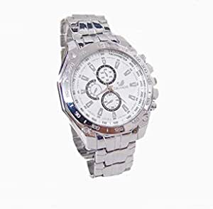 Sport Watch for Men , Analog , Stainless Steel B and