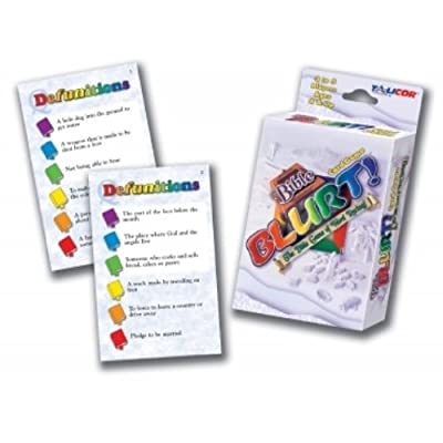 Bible Big Deal Blurt Card Game: Toys & Games