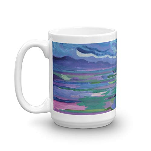 (Untitled. 15 Oz Fine Ceramic Mug With Flawless Glaze Finish. 15 Oz Ceramic Glossy Mugs With Easy Grip Handle, Give A Classic For Look And Feel)