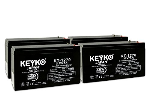 GS Portalac PX12072 12V 7Ah Replacement Battery SLA (Seal...