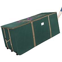 1562 Elf Stor Green Rolling Christmas Tree Storage Duffel Bag w/Window for 12 Ft Tree