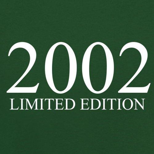 2002 Limierte Auflage / Limited Edition - 15. Geburtstag - Herren T-Shirt - Flaschengrün - XL