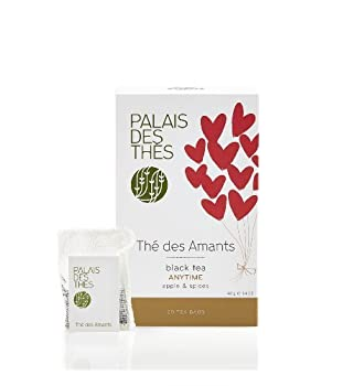Palais des Thés, Signature Tea Blends Collection, The des Amants (Black, Apple, Almond, Cinnamon)