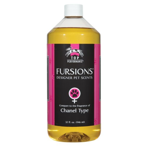 Top Performance Fursions Chanel No-1/2 Dog Cologne Refill, 32-Ounce, My Pet Supplies