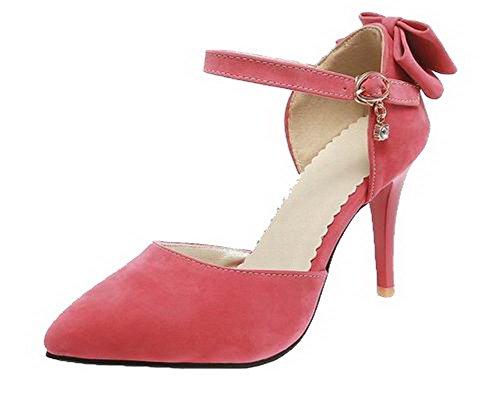 Sandali Agoolar con Sandalo fibbia Rosso tacco Solido con Gmxlb009440 alto xfAfqIw