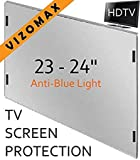 23 - 24 inch Anti-blue Light Vizomax Monitor/TV Screen Protector for LCD, LED, Computer & Plasma HDTV