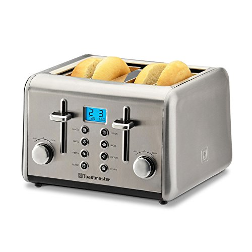 Cheap Toastmaster Stainless-Steel 4-Slice Toaster
