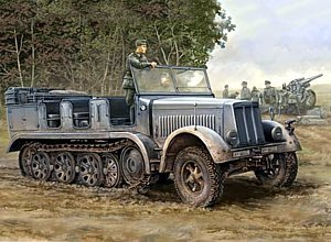 Trumpeter 1/35 German Sdkfz 7 8-Ton Early Version Halftrack