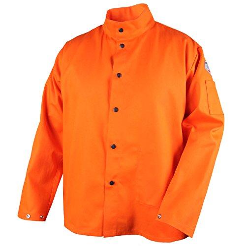 Revco FO9-30C-L Flame Resistant Cotton Welding Jacket, Large