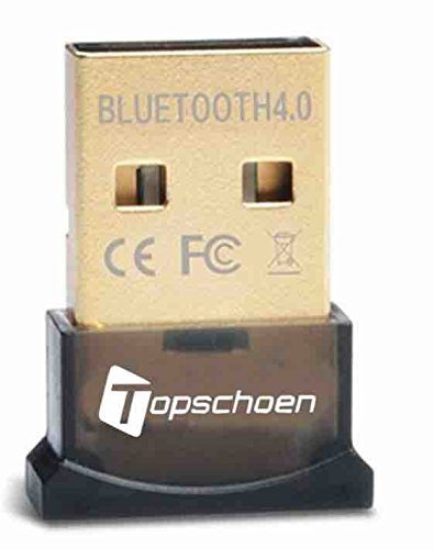 10 opinioni per Topschoen Bluetooth USB Dongle Bluetooth CSR4.0 ricevitore per Windows 2000/98 /