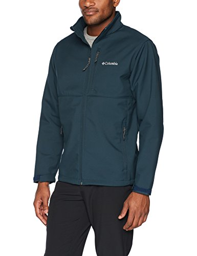 Columbia Men's Ascender Softshell Jacket, Night Shadow, XL
