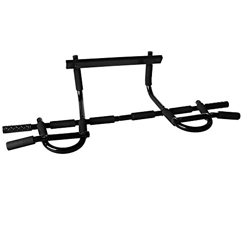 Heavy Duty Doorway Pull Up/Chin Up Bar Exerciser for Home Office Gym, Capacity 330 lb(US Stock)