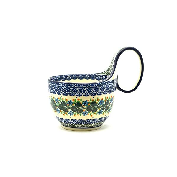 Polish Pottery Soup Bowl with Loop Handle – Ivy Trail