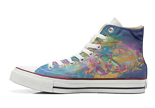 Converse All Star Customized - zapatos personalizados (Producto Artesano) Flou