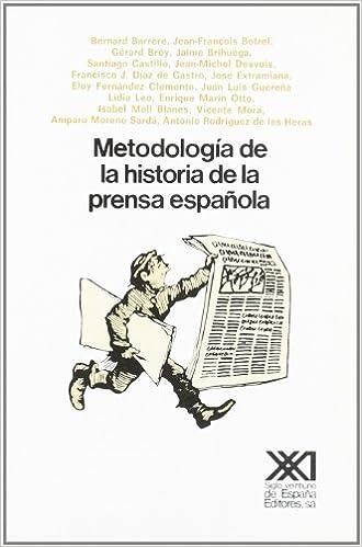 Metodología de la historia de la prensa española: Amazon.es: Barrère, Bernard, El Cubri: Libros