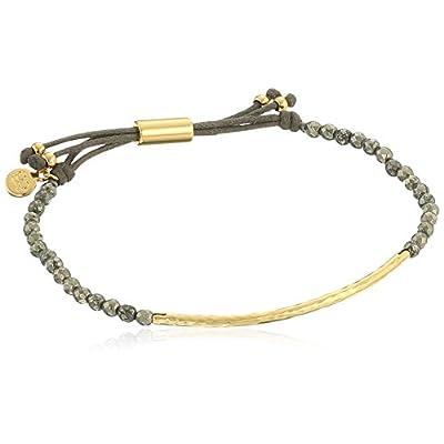 Wholesale Gorjana Power Gemstone Pyrite Bracelet For Strength hot sale