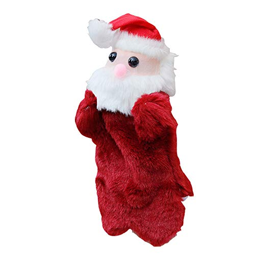 Sikye Plush Finger Toy Christmas Cute Cartoon Animal Doll Kids Glove Hand Puppet Kids Adults from Sikye