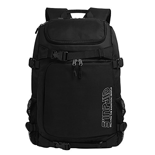 "Lifewit 22L Sports Backpack 15.6"" Laptop Water Repellent Bat Bag with Shoe Compartment"