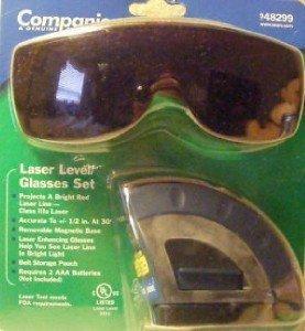 Laser Level/glasses Set