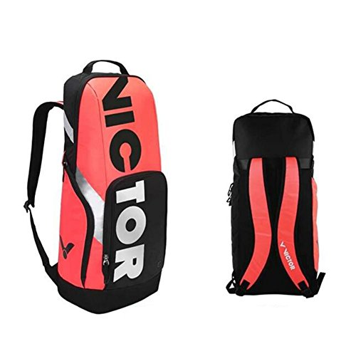 JT Sport-Rucksack-Berufsbadminton-Tennis-Im Freienart Und Weise Beiläufige Doppelte Schulter-Tasche Red