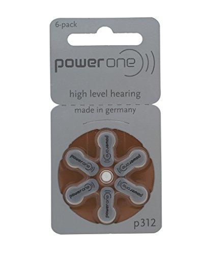 Power p312 Hearing Battery Packs