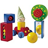 HABA First Blocks - Each One with a Visual or Acoustic Surprise for Ages 1 and Up (Made in Germany)