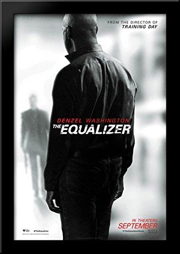 The Equalizer 28x40 Large Black Wood Framed Print - Equalizer Poster