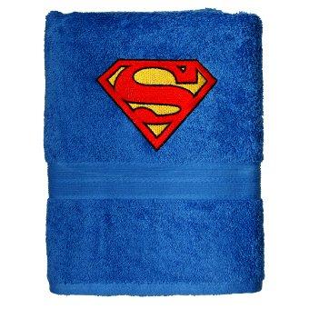 Superman DC Comics Juego de Toalla Azul Bordado Personalizado Toalla de mano 70x130cm: Amazon.es: Hogar
