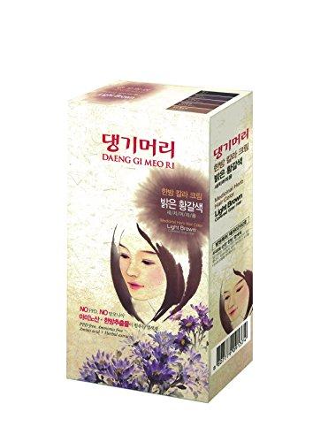 Daeng Gi Meo Ri Medicinal Herb Hair Color Dye (Light Brown)