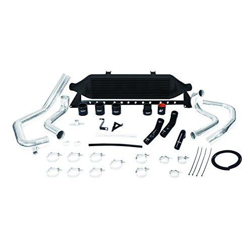- Mishimoto Subaru WRX STI front-mount intercooler kit, 2008-2014 Black