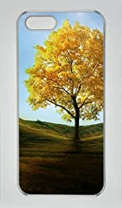 Yellow Tree Vital DIY Hard Shell Transparent iphone 5/5s Case Perfect By Custom Service