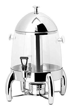 prestoware pw-912, 12.6-quart caliente y fría dispensador de bebidas, plástico y acero inoxidable para Catering: Amazon.es: Hogar