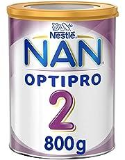 حليب الاطفال نان اوبتي برو المرحلة الثانية، من عمر 6 إلى 12 شهر من نستله، 800 غرام - عبوة مكونة من قطعة واحدة