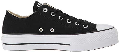 White Lift White Converse Black Low Canvas Top Sneaker Women's 7a5pq0xf