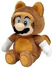 Little Buddy Tanooki Mario 9-Inch Plush