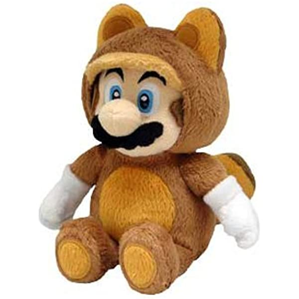 Little Buddy Oficial Super Mario Peluche Mapache Tanooki Mario, 22 ...