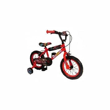 78a199e3fe4 Disney Cars 2 14 Inch Bike - Boys with Stailisers: Amazon.co.uk: Sports &  Outdoors