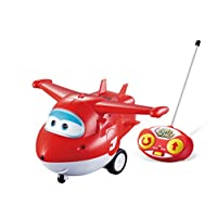 Super Wings - Vehículo de juguete RC - Control remoto Jett
