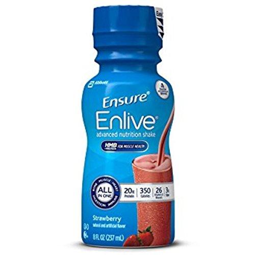 Ensure Technologies Bottles, Strawberry, 8 oz
