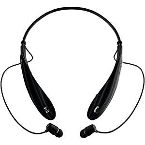 LG Electronics Tone Ultra (HBS-800) Bluetooth Stereo Headset - Black (Certified Refurbished)