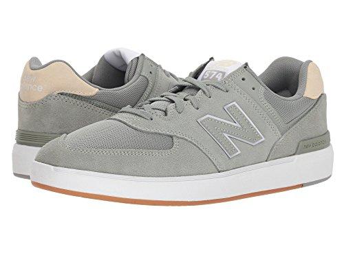 [new balance(ニューバランス)] メンズランニングシューズ?スニーカー?靴 AM574 Sage/Tan 9 (27cm) D - Medium