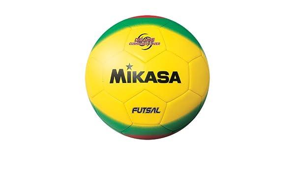 Mikasa America Futsal Ball, Low Bounce Soccer Ball-Size 4 Red ...