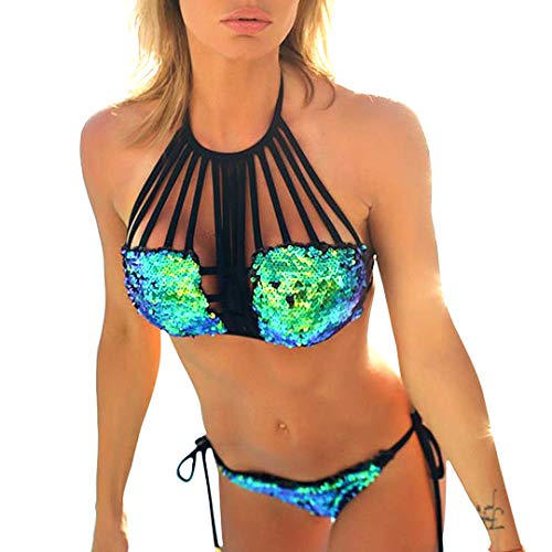 Glitter Bikini Swimsuit in Australia - 3