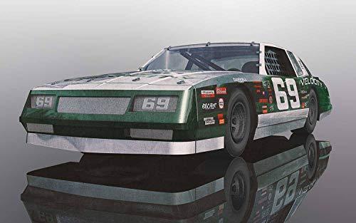 Scalextric Chevrolet Monte Carlo 1986#69 1:32 Slot Race Car C3947