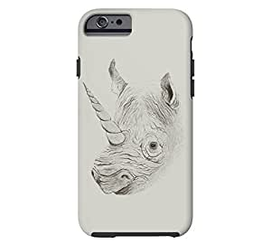 Rhinoplasty iPhone 6 Silver Tough Phone Case - Design By Humans