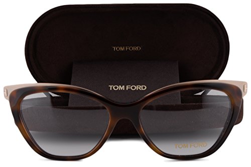 Tom Ford FT5374 Eyeglasses 54-15-135 Dark Havana 052 FT 5374 For - Sunglasses Ford Celebrity Tom
