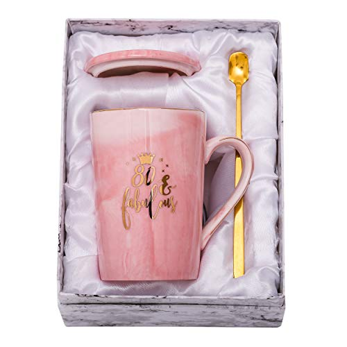 80 and Fabulous Coffee Mug Gift Set