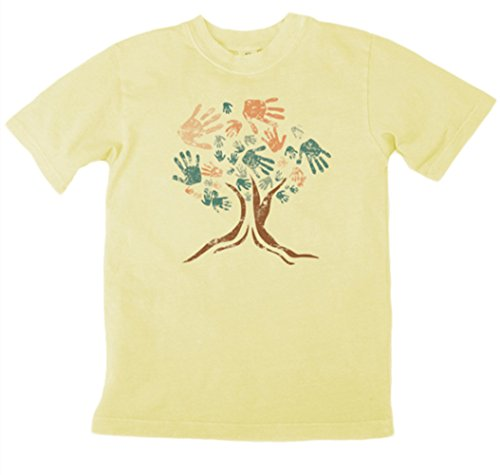 Earth Creations Boys Clay Dyed Treehugger T-Shirt 9|10
